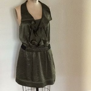 Olive green RACHEL Rachel Roy dress